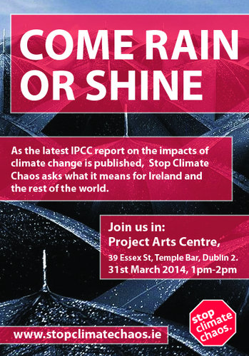 Come Rain or Shine - Join us in the Project Arts Centre