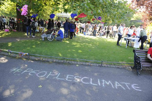 Climate Picnic Stephens Green 21st Sept 2014